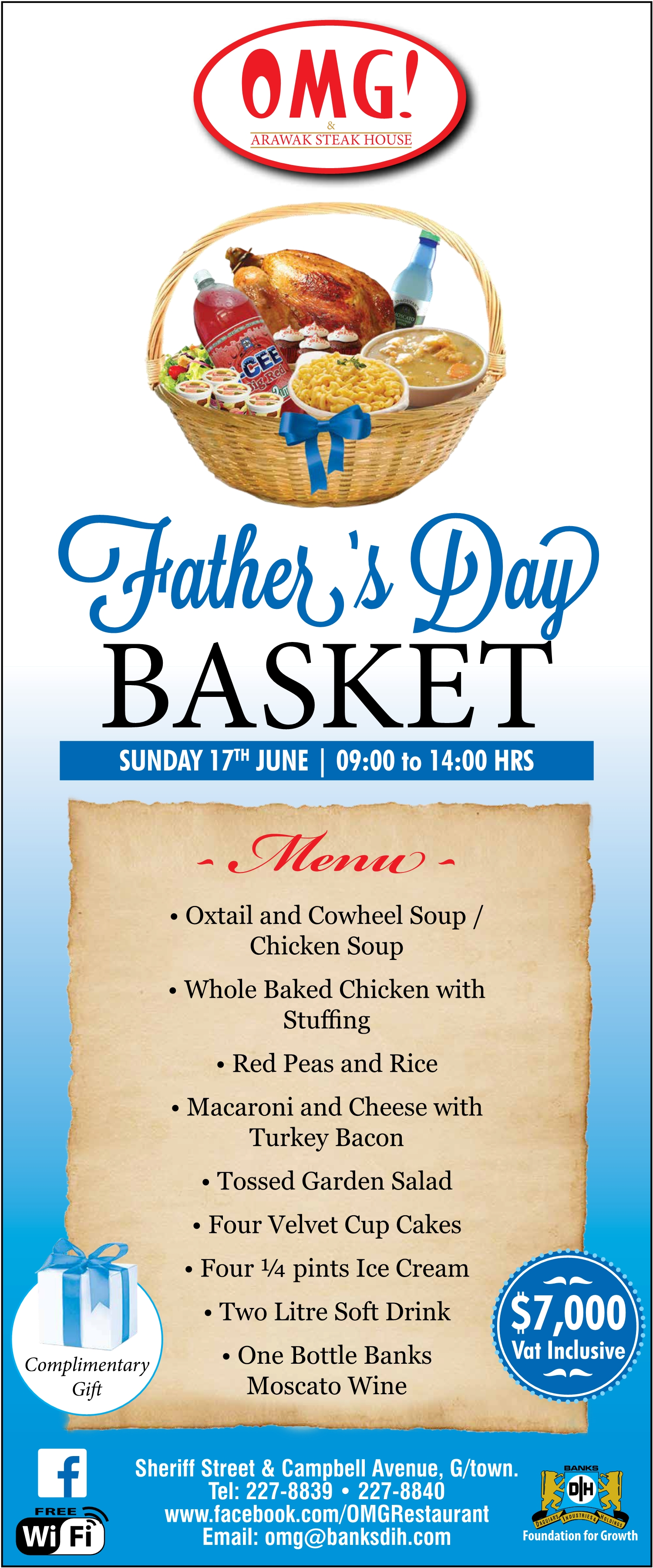 Fathers Day Basket Banks Dih Ltd