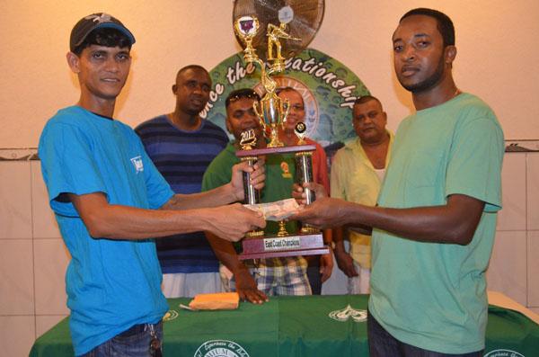 Persaud Wins East Coast Leg Of Premium Cues Competition Banks Dih Ltd
